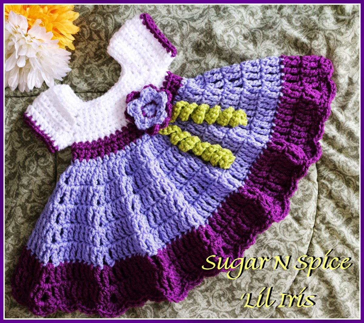 Free Baby Girl Toddler Crochet Dress Patterns from Worsted Weight Yarn or  Wool