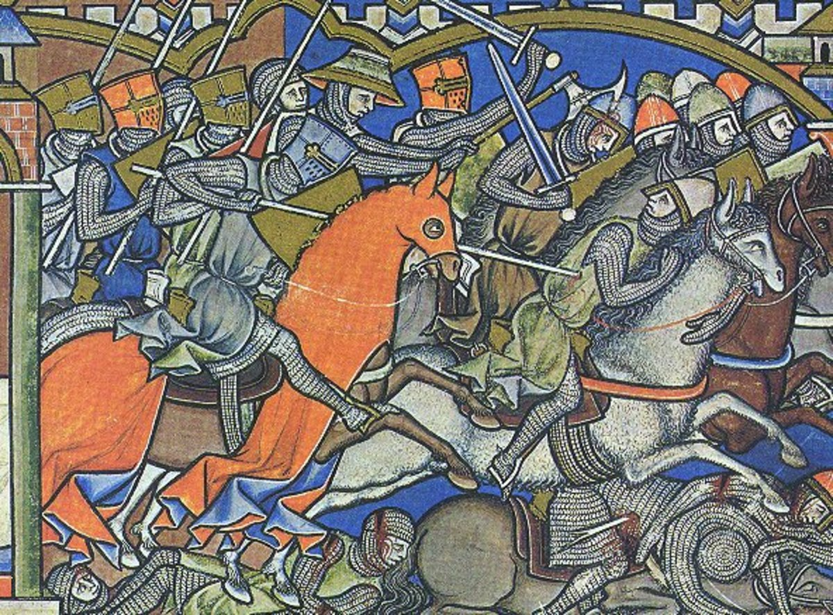 13th century warfare, not a place for the meek