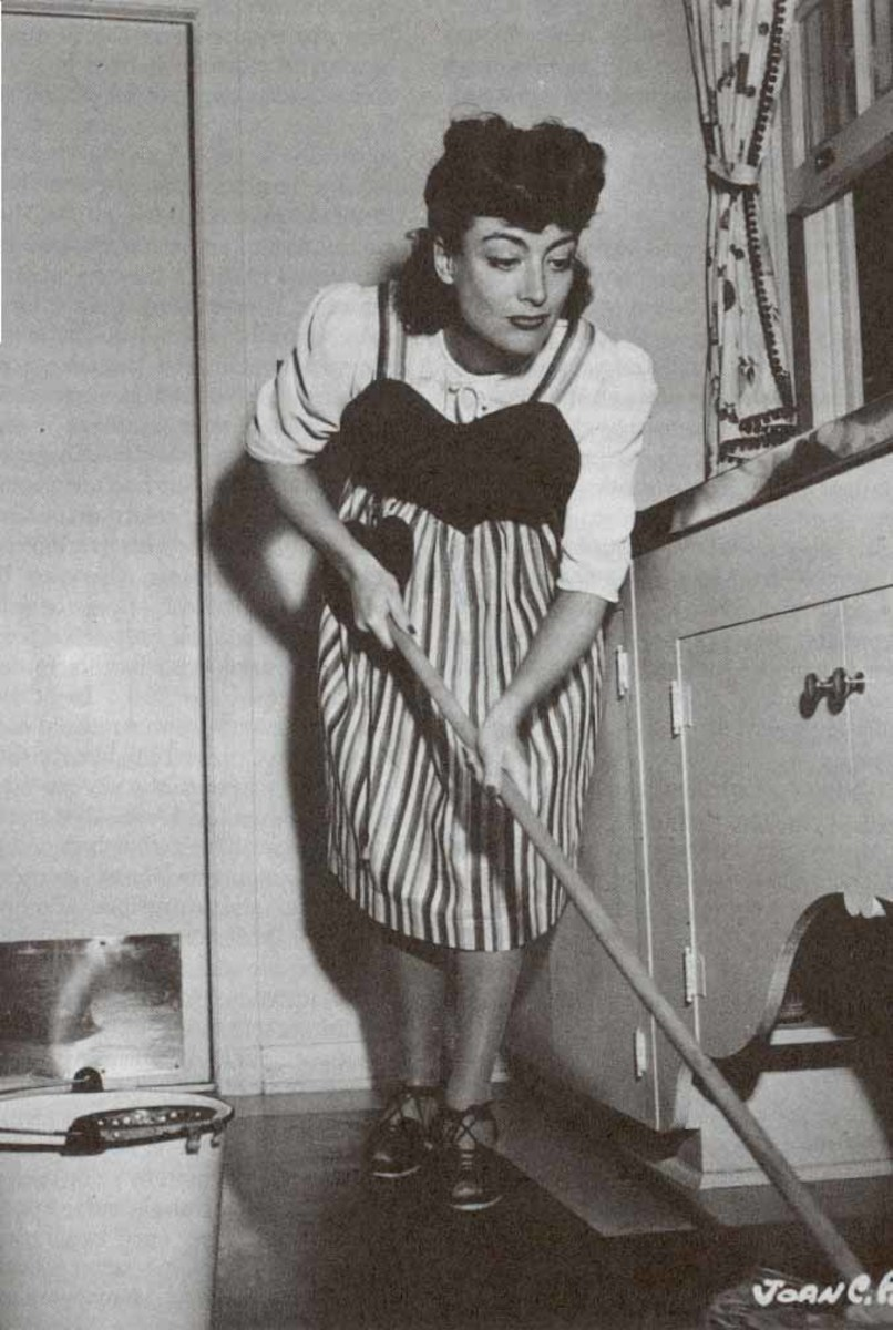 1950s Model and Cultural Icon, Joan Crawford