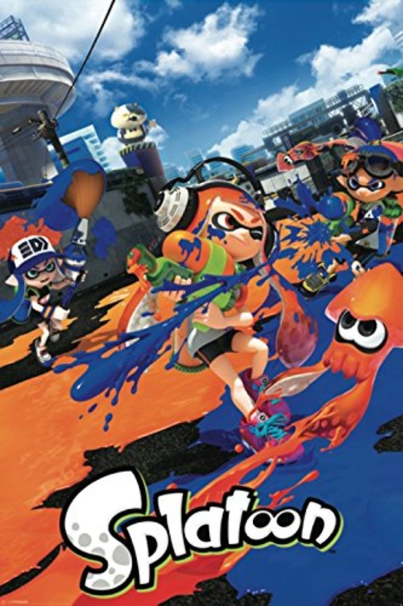 Splatoon Birthday Party Ideas and Themed Supplies
