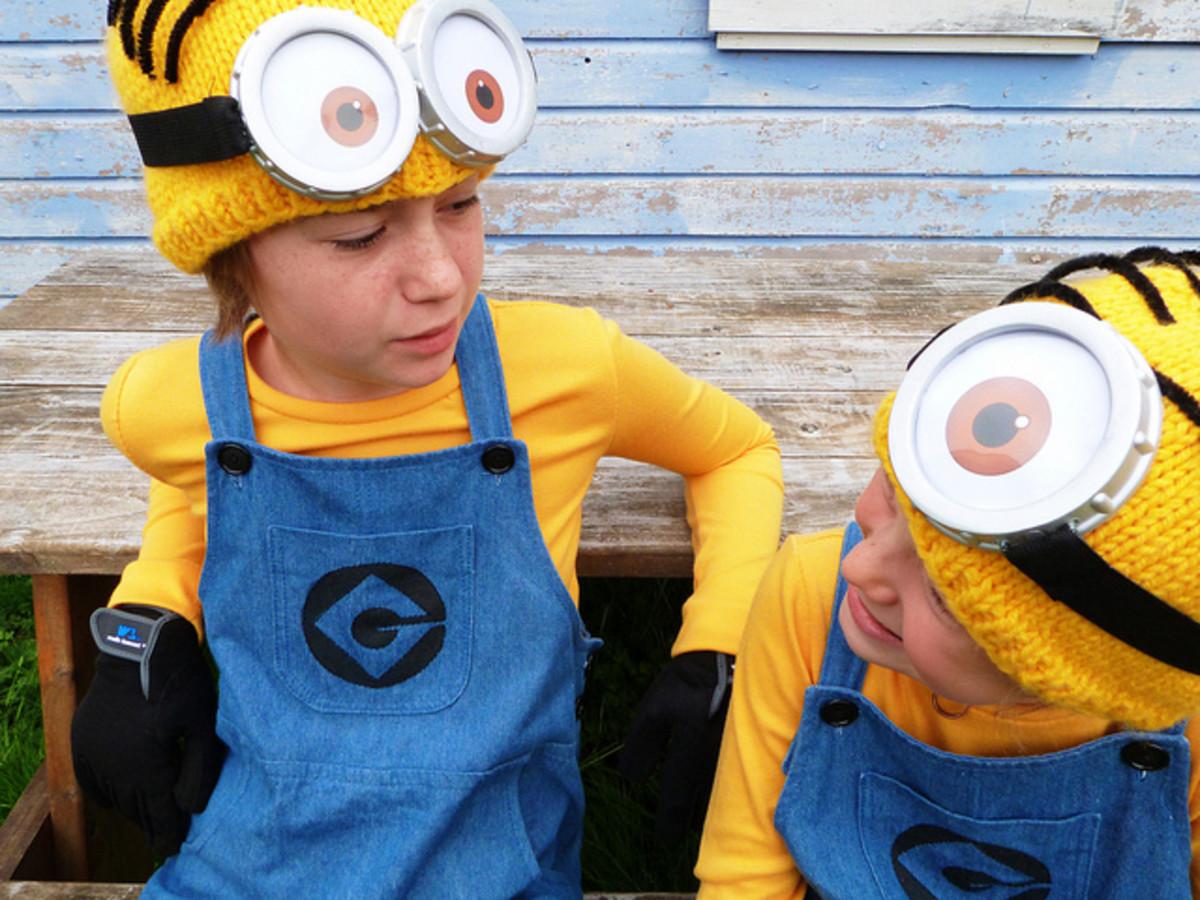 A couple of Minion costumes