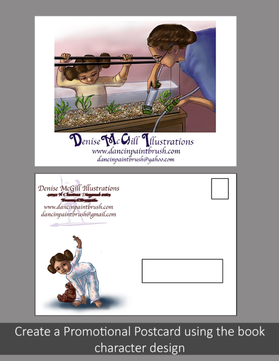 Postcard Promotional designs