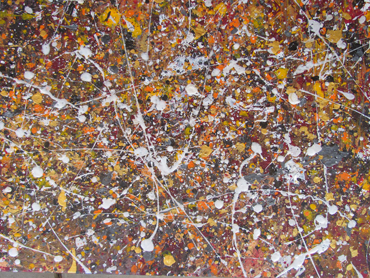 Artists who died before 50 jackson pollock hubpages for Famous pollock paintings