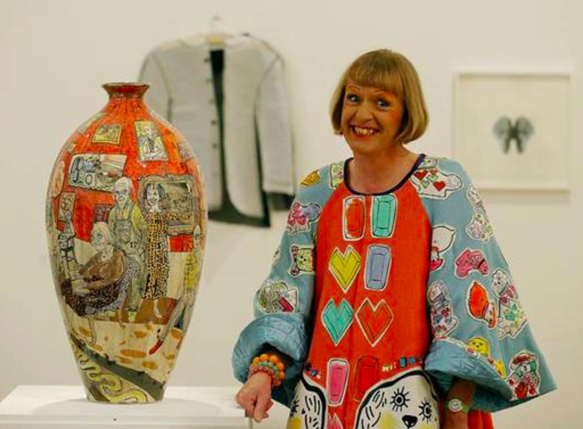Who is Grayson Perry? This British potter is as interesting as the art he creates.