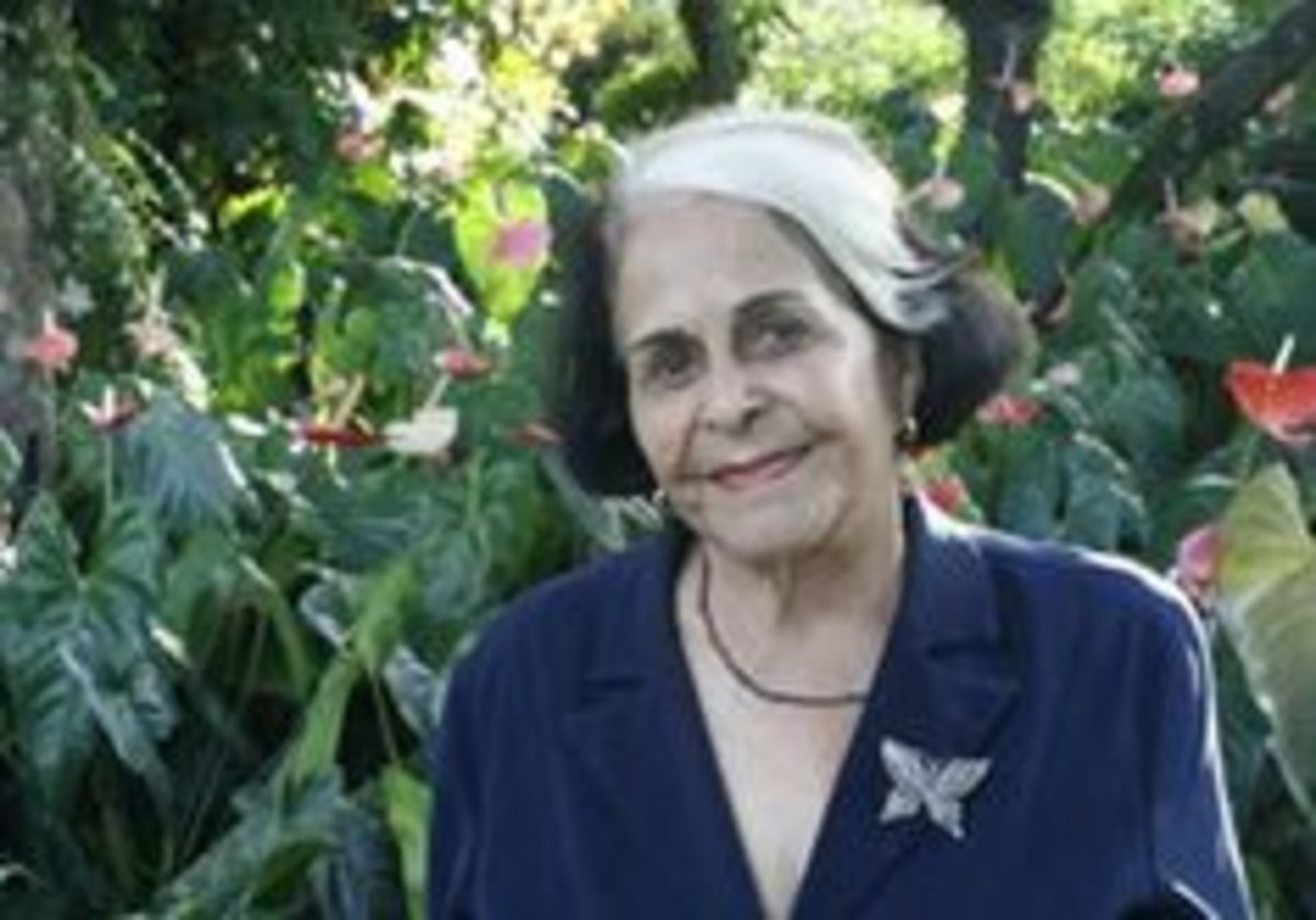 Belgica Adela Mirabal Reyes.  Dede, the sister who lived from 1925-2014.