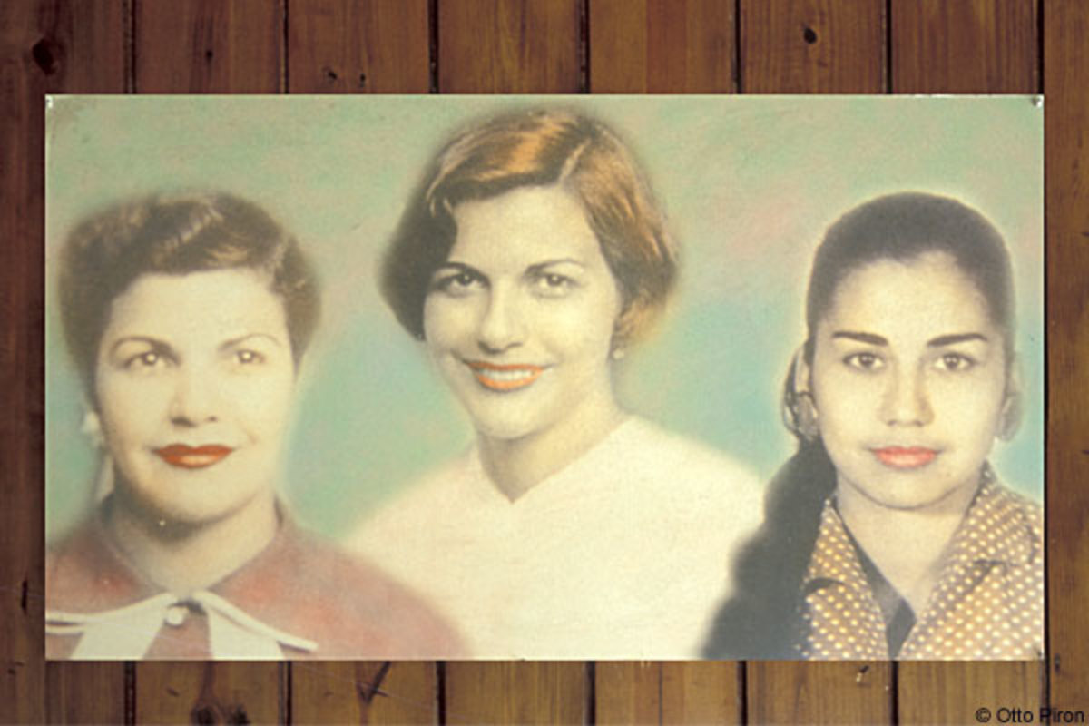 The Mirabal Sisters.  Patria, Minerva, and Mate