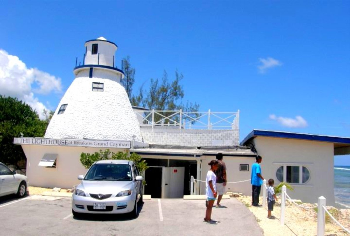 A visit to the Lighthouse Club is a must for anyone visiting the Cayman Islands.  My kids really enjoyed their visit.