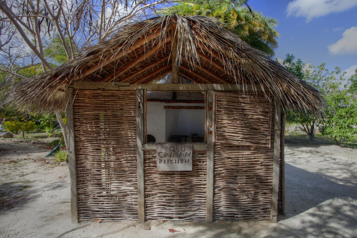 Old Time Cayman Kitchen at Pedro Castle