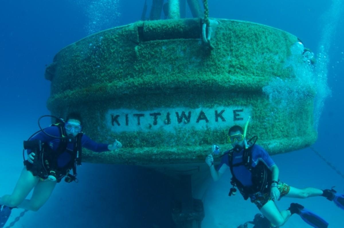 A popular dive site