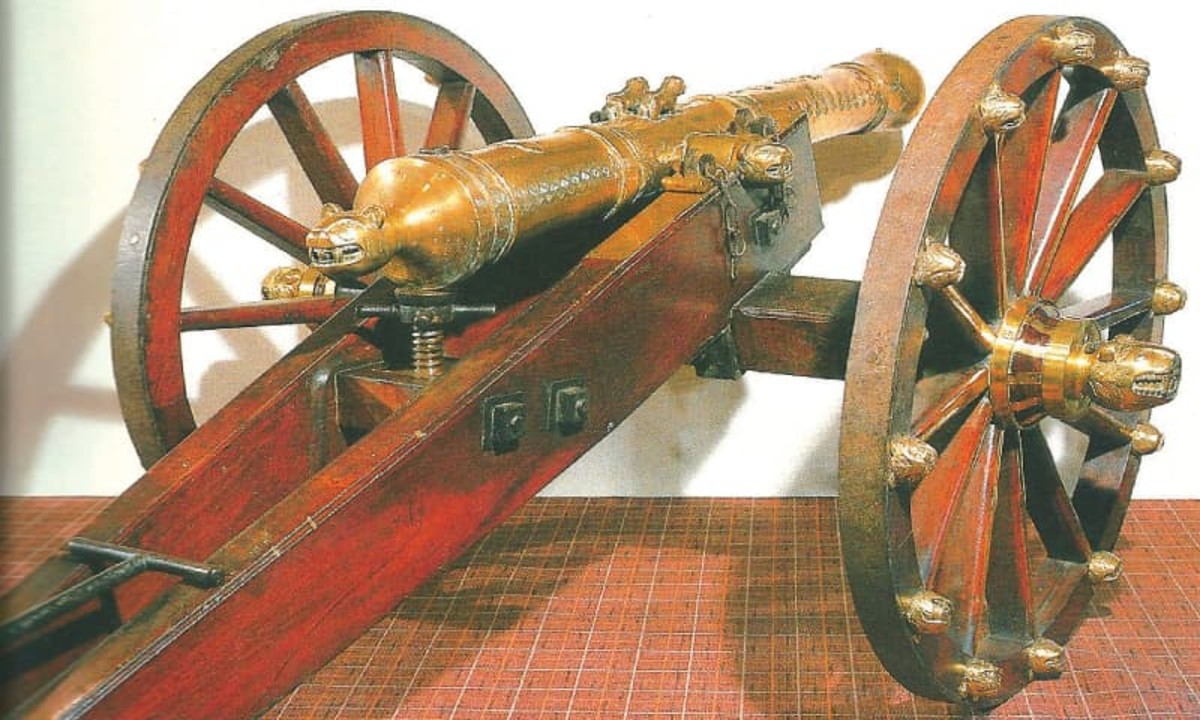 3 Pounder Canon used by Tippu