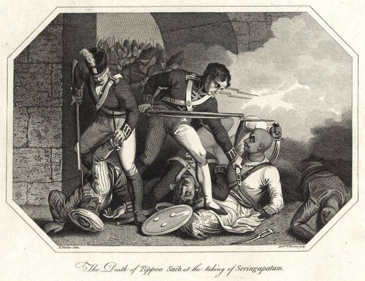 Painting of the Death of Tippu