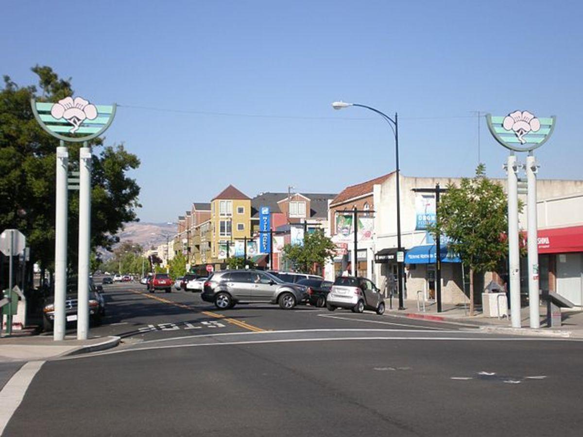 Entrance to Japantown in San Jose
