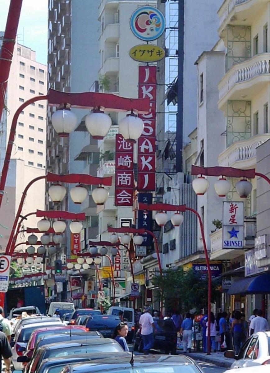 Japantown in Sao Paulo