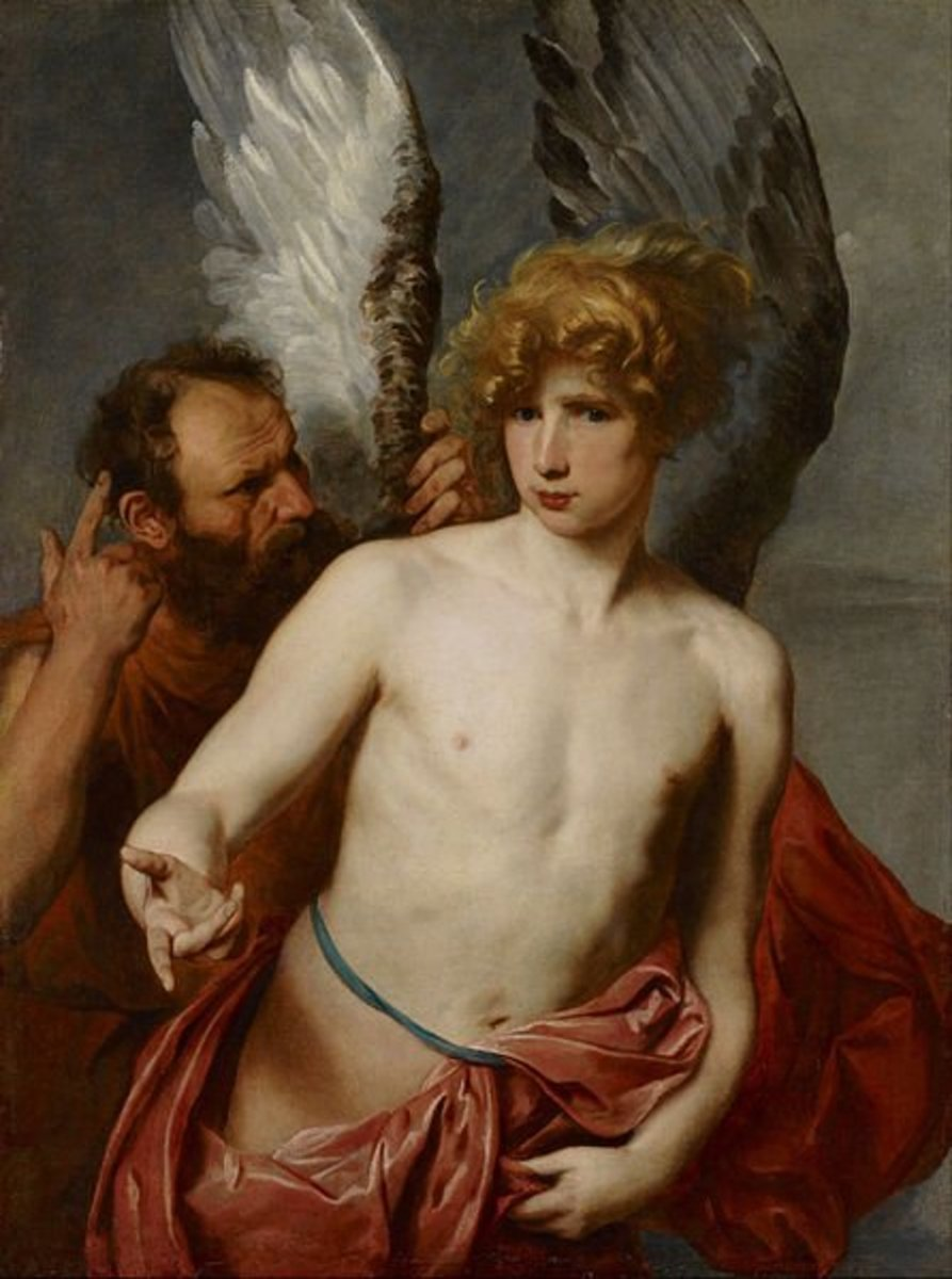 Daedalus and Icarus - Anthony van Dyck (1599–1641) - PD-art-100
