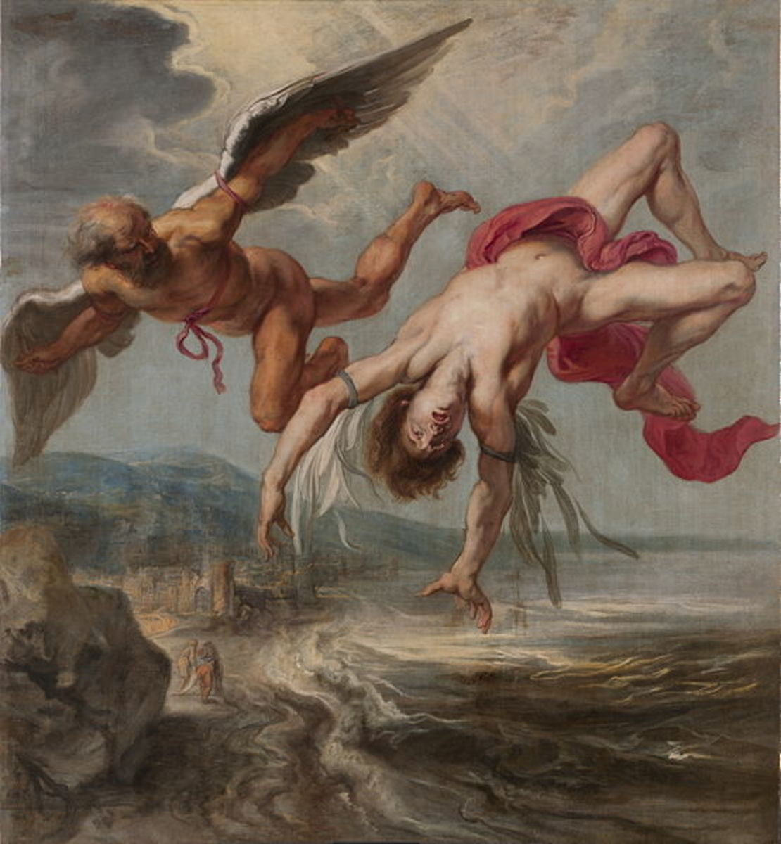 Icarus Falls - Jacob Peter Gowy - PD-art-100