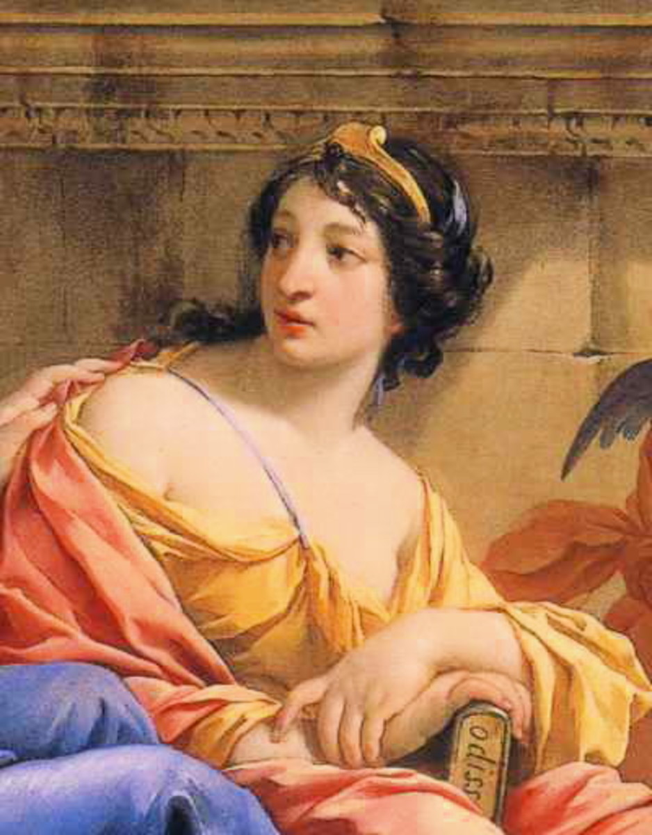 Calliope by Simon Vouet (1590–1649)