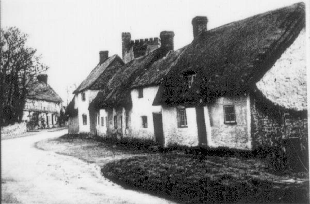 Long Crendon cottages where my Great Great grandparents and family lived.