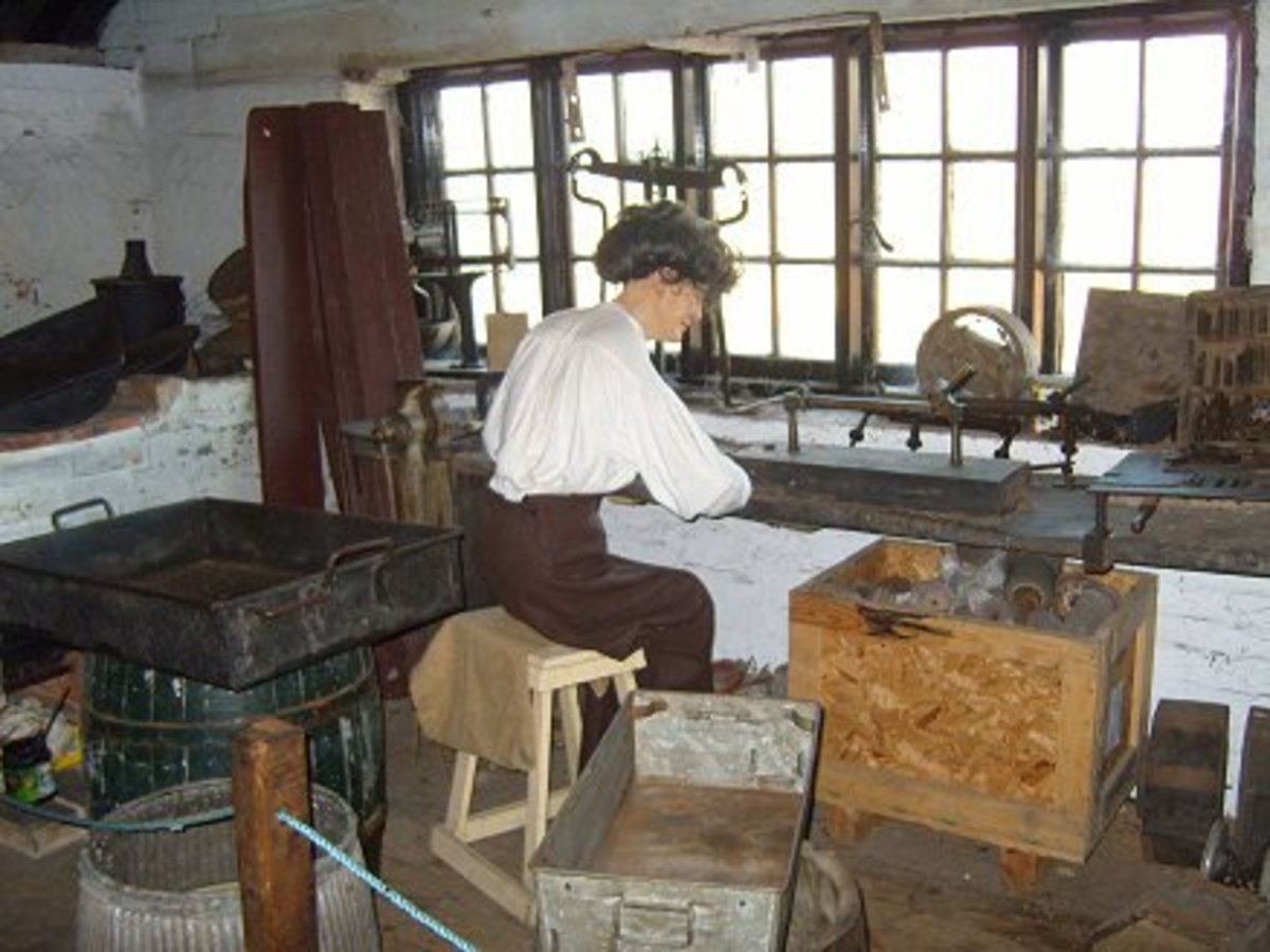 Needle Making Copyright permission http://www.forgemill.org.uk/explore09.htm