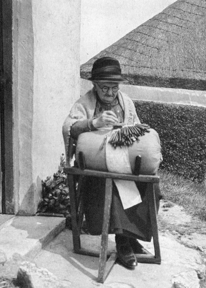 Dorcas Ing, Long Crendon Bucks Lace Maker. I believe she was a distant relative.  Either through Turner, Shrimpton, Sawyer or Wheeler.