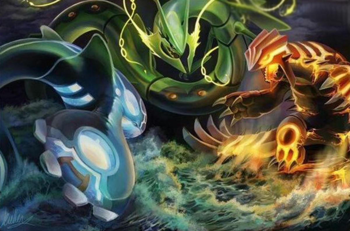 Legendary Pokemon Review (Generation 3)