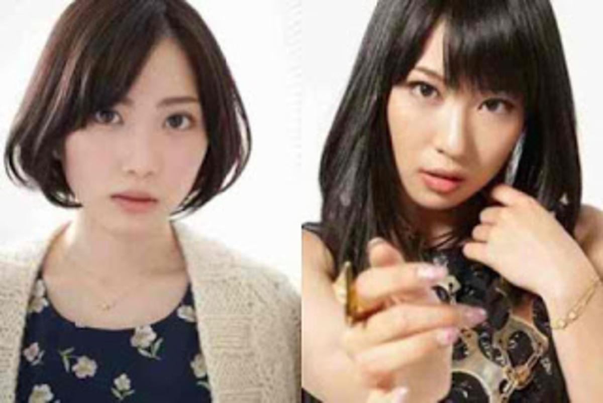 Shida Mirai (left) and Yuka Masuda (right)