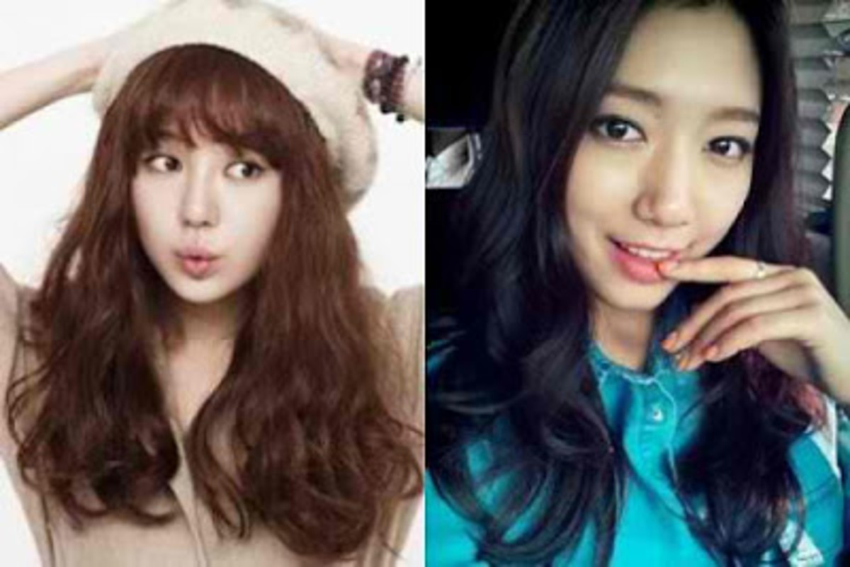 Yoon Eun-hye (left) and Park Shin-hye (right)