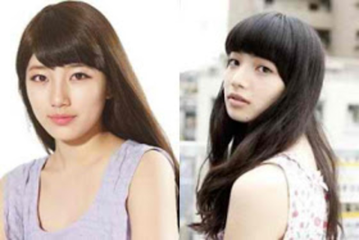 Bae Suzy (left) and Nana Komatsu (right)