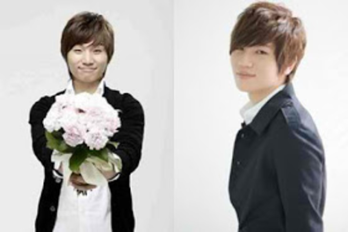 Daesung (left) and K Will (right)