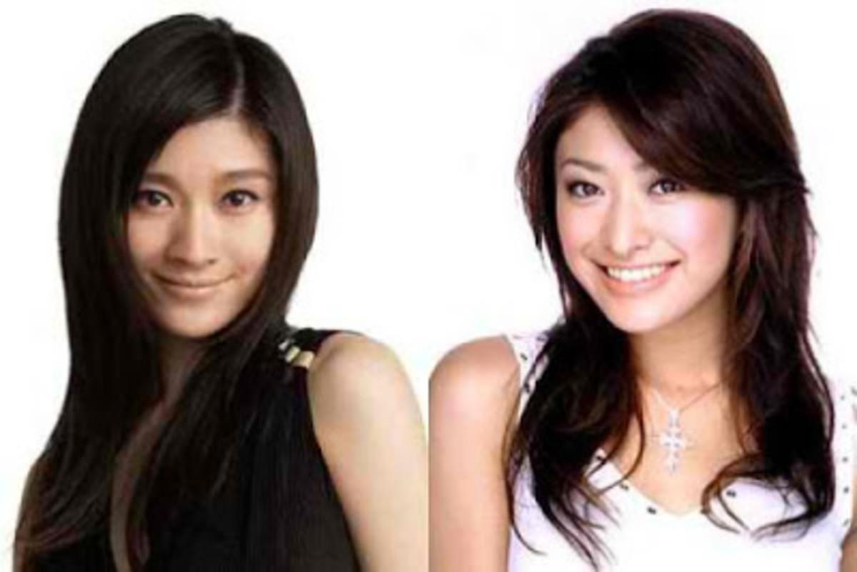 Shinohara Ryoko (left) and Yamada Yu (right)
