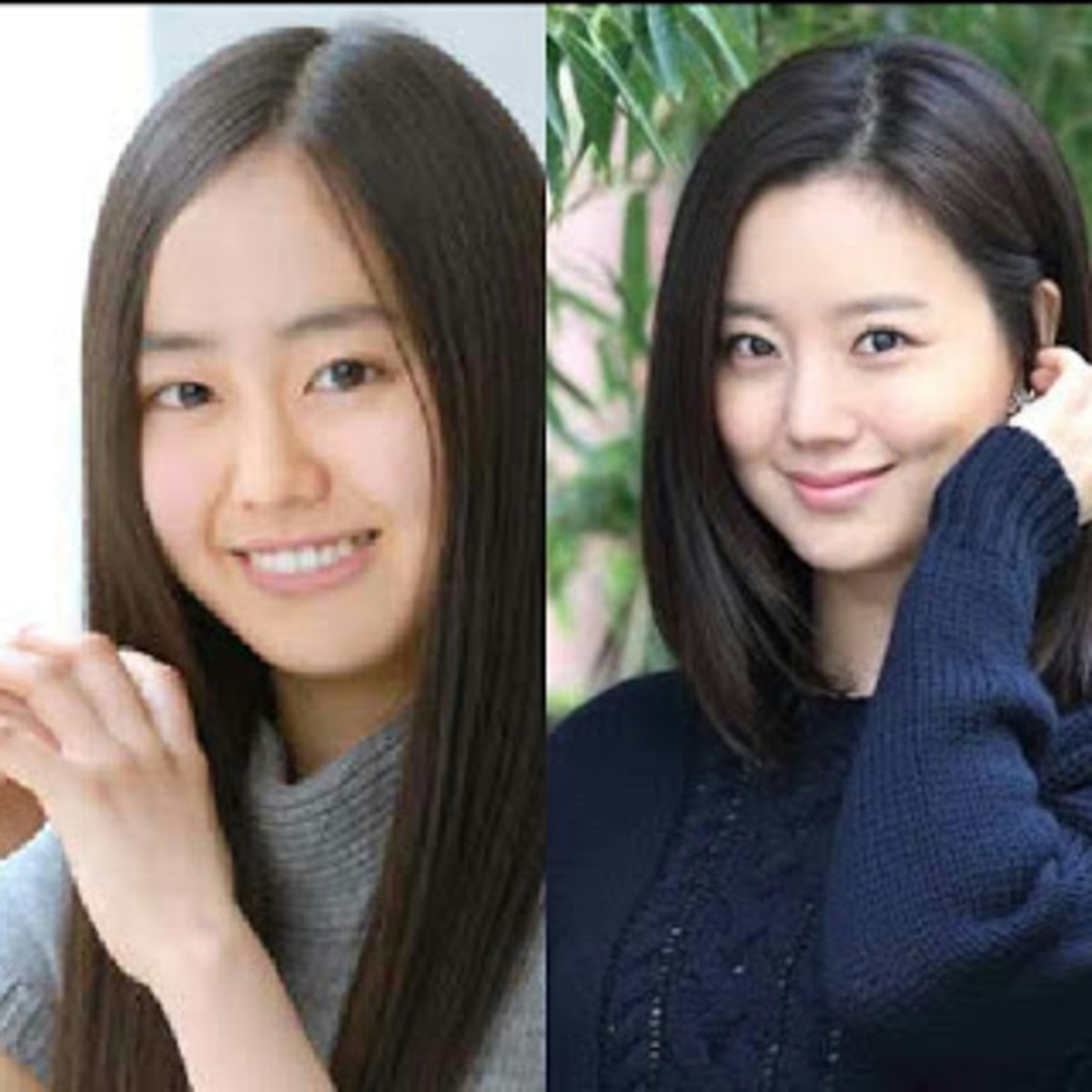 Karen Miyazaki (left) and Moon Chae-won (right)
