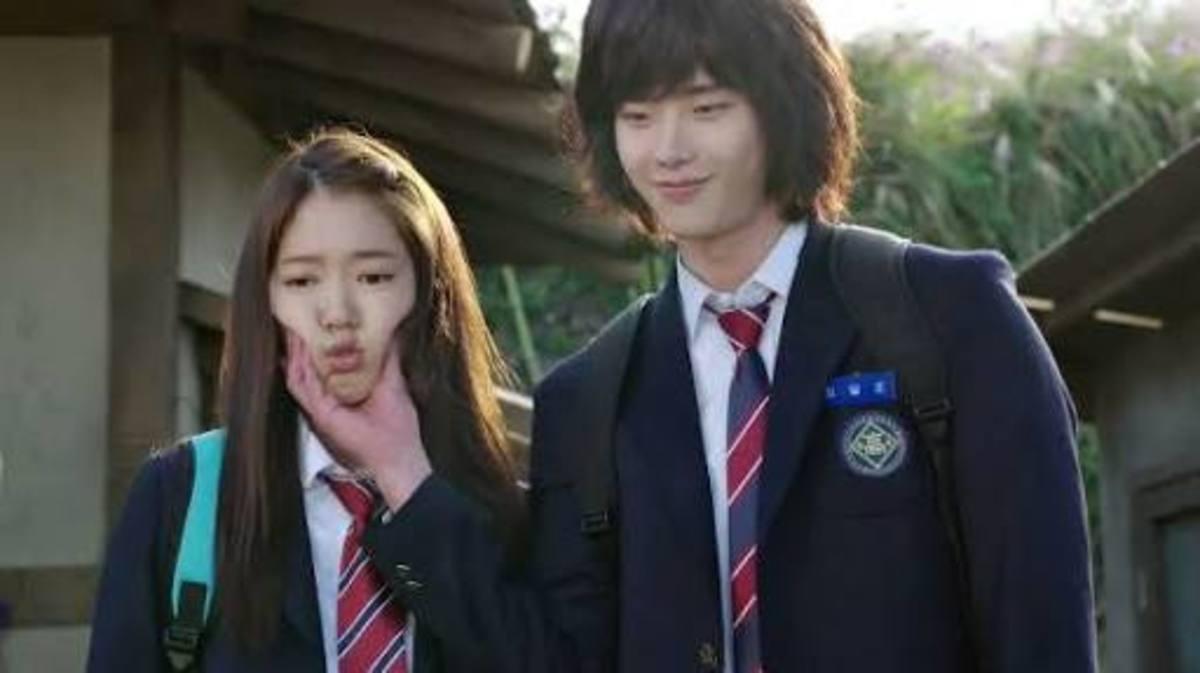 Park Shin Hye and Lee Jong-suk for the Korean drama Pinocchio