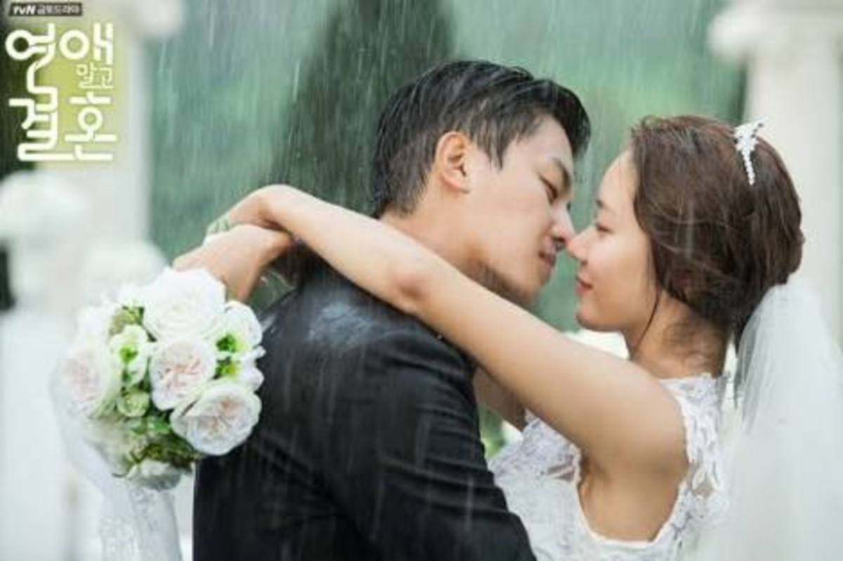 marriage not dating romantic scene