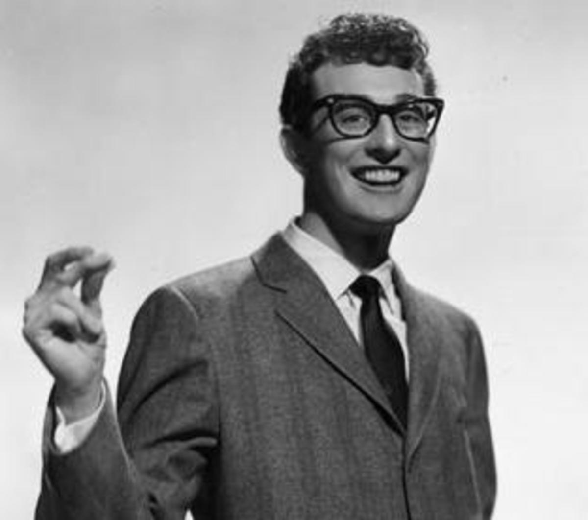 By Buddy_Holly_Brunswick_Records.jpg: Brunswick Records derivative work: GDuwenTell me! [Public domain], via Wikimedia Commons