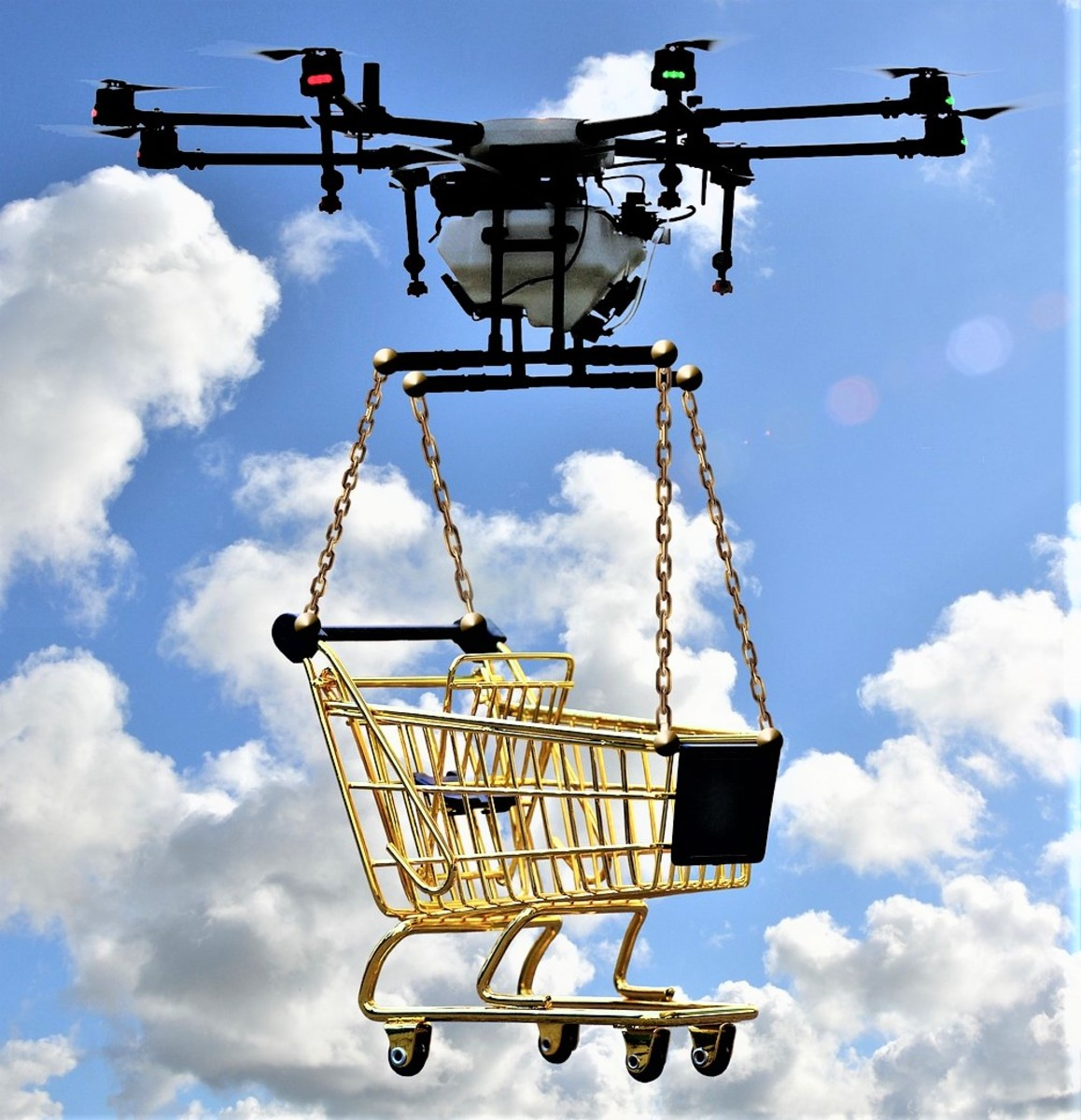 Amazon Prime Air: Instant Free Shipping With Delivery Drones