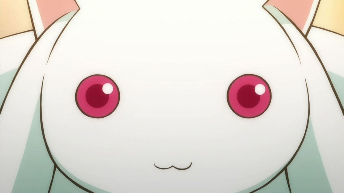 Kyubey stares into your soul! STOP STARING INTO MY SOUIL!