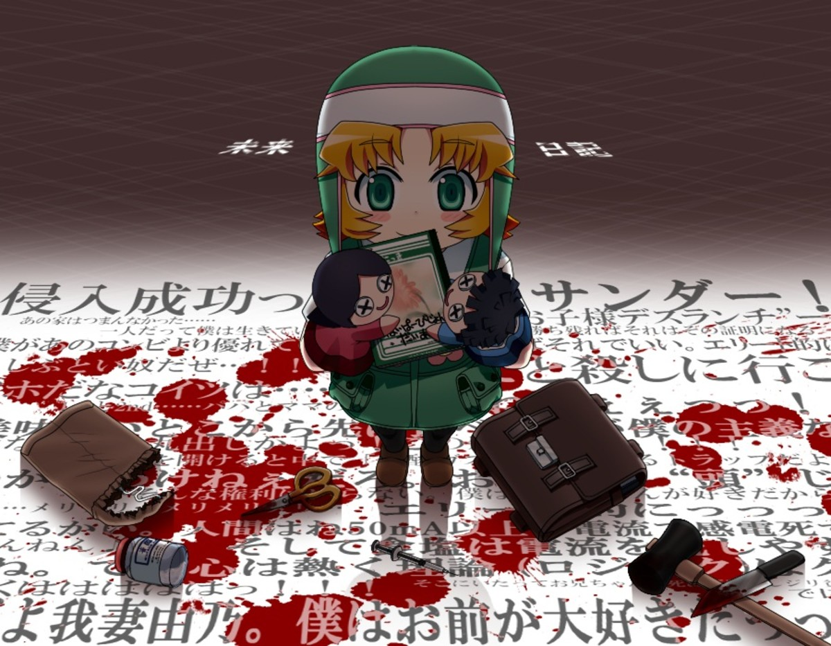 Reisuke with the Hyper Vision Diary