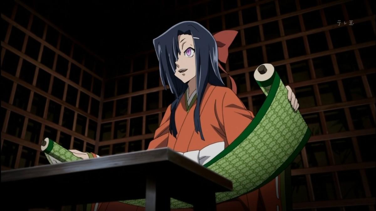 Tsubaki Kasugano with the Clairvoyance Diary