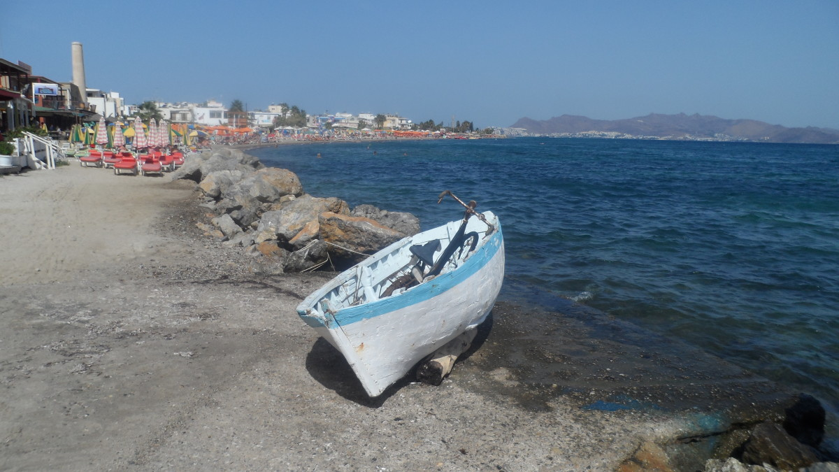 Kos is a popular Greek Island nearer to Turkey than mainland Greece