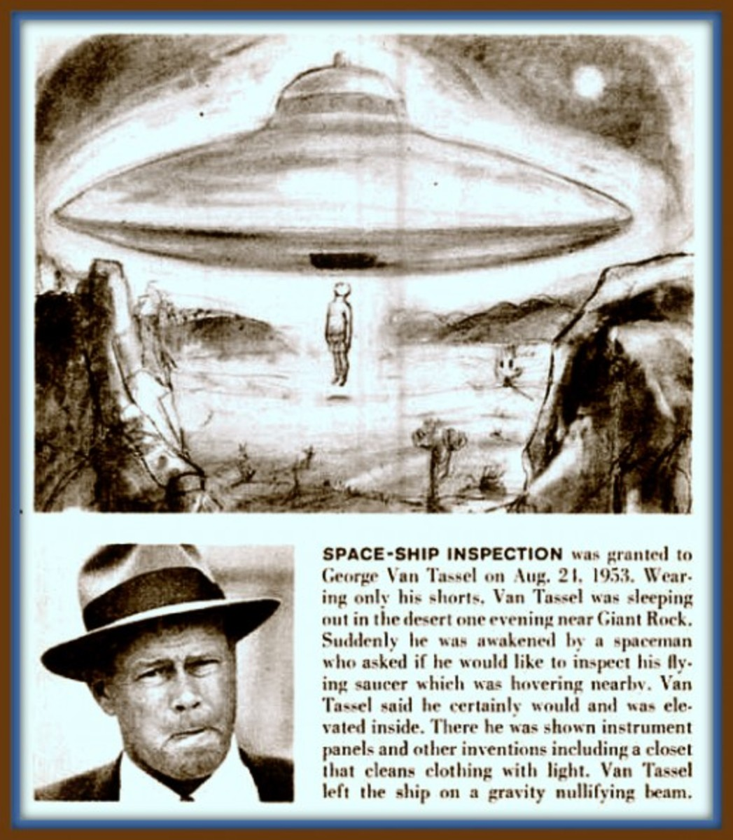 George greeted the saucer beings with thoughts of love and receive them as friends, not with jets and guns and fear. These were the ancient Venusian's coming to warn mankind through time and space of what had occurred on their once Eden world.