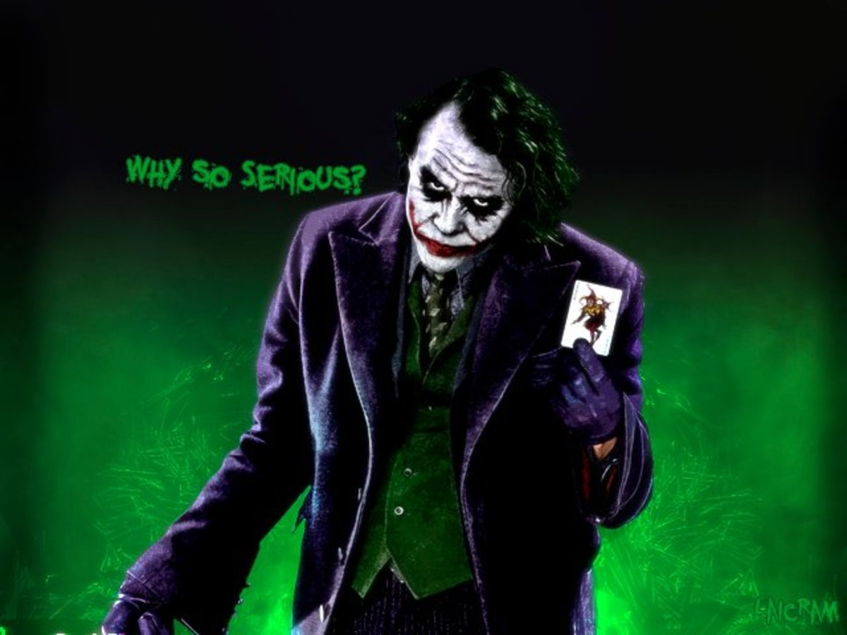 Hereu0027s A Picture Of Heath Ledger Dressed Up For His Role As The Joker In The