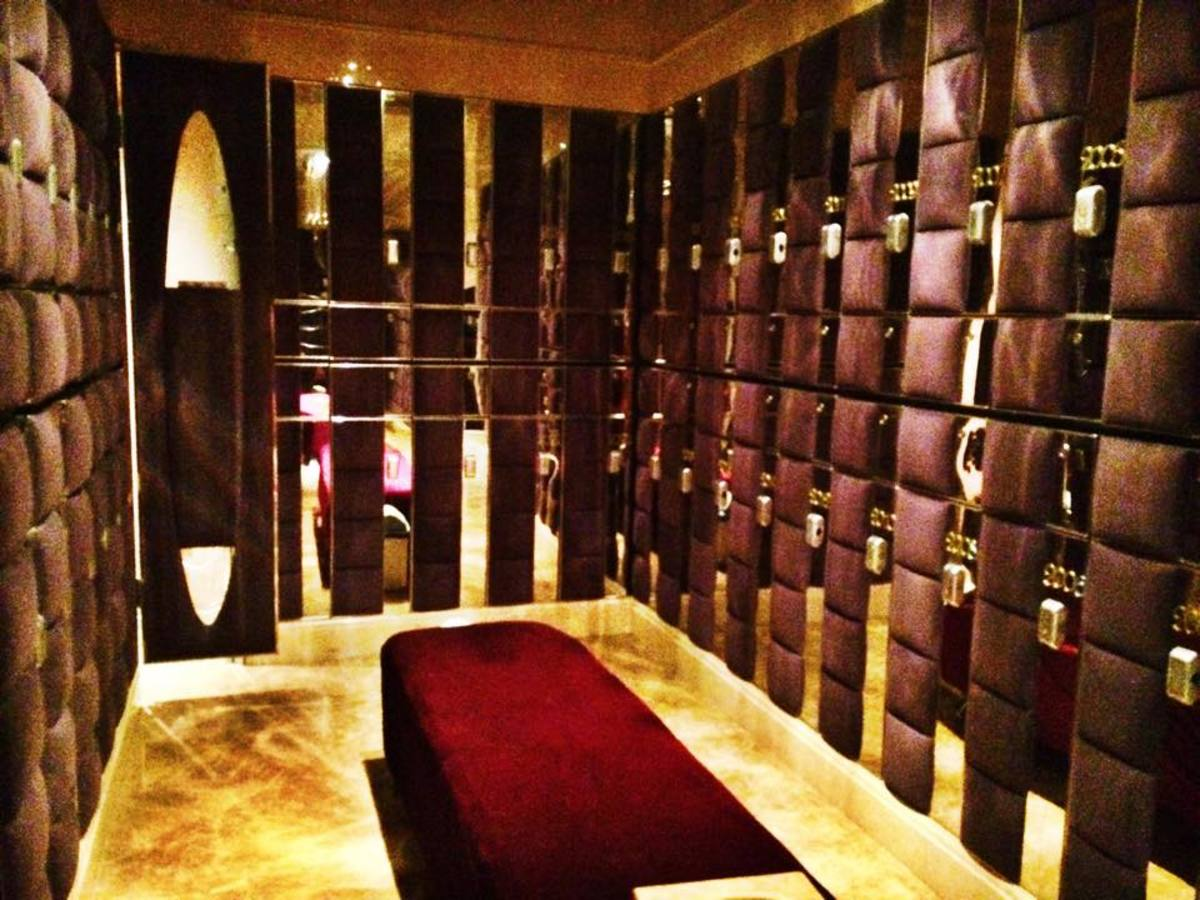 Private full body massage room at 24 hour spa, China