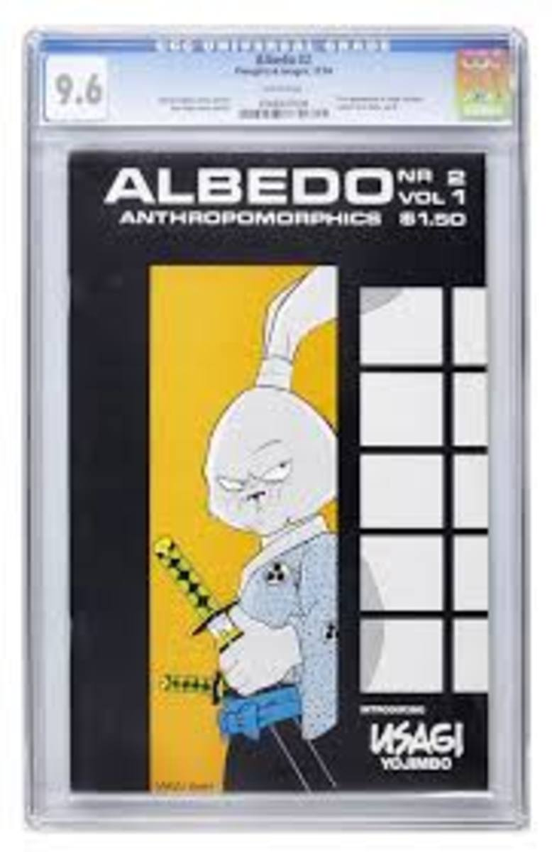 A nice graded copy of Albedo # 2