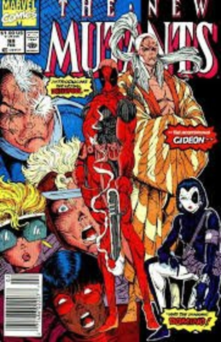 New Mutants # 98 The First Appearance Of Deadpool.