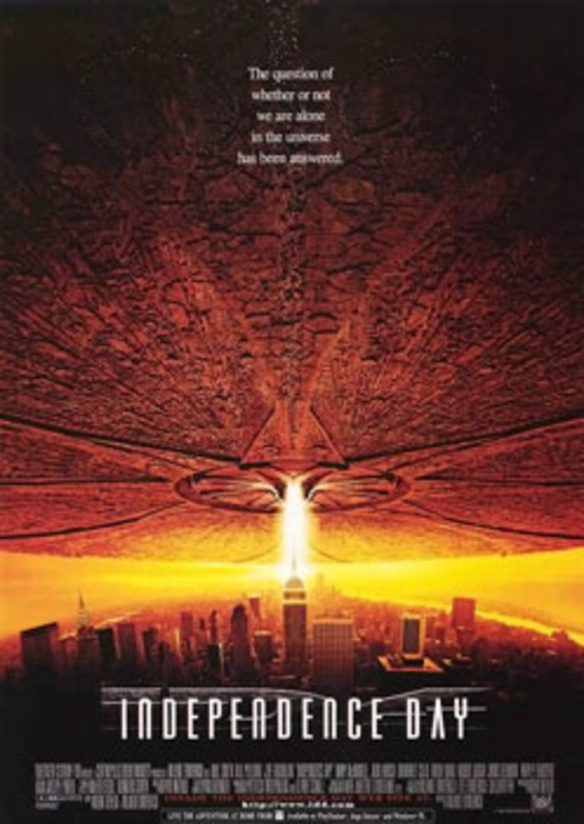 I don't know how many times Hollywood has destroyed New York, but Independence Day does it again.