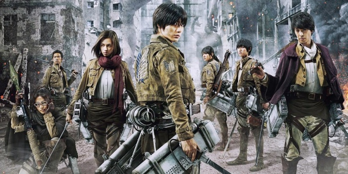 Attack on Titan live-action movie.
