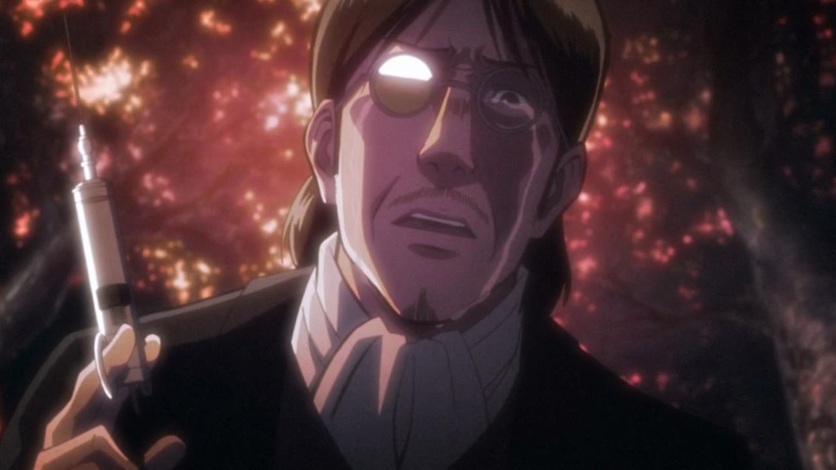 Eren's father.
