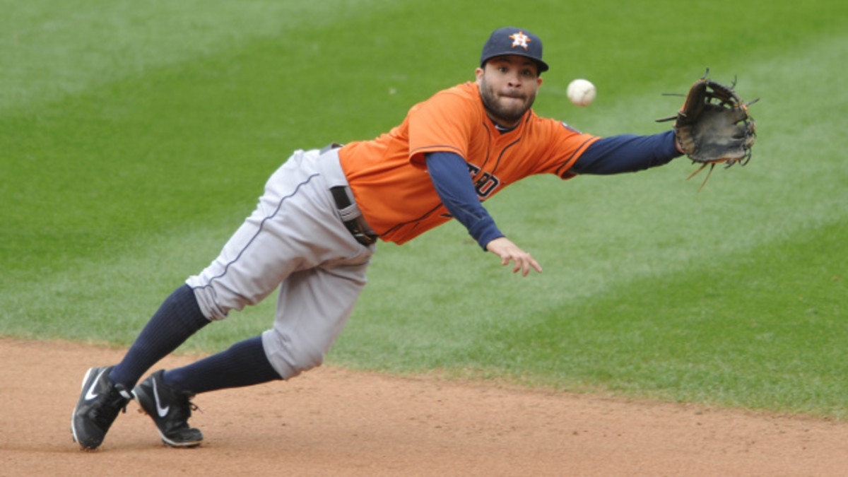 Jose hustles all day, every day, making the Astros second baseman a league favorite.