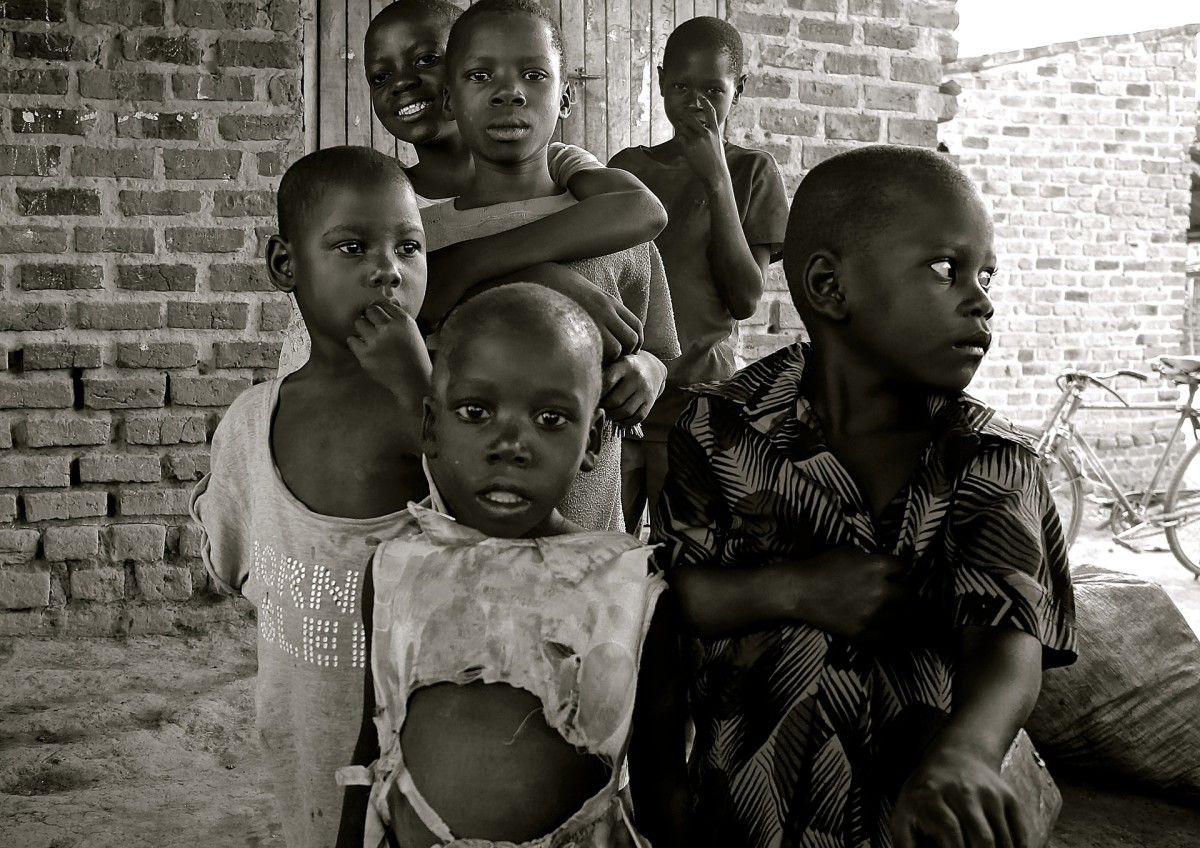 Starving Children, Uganda