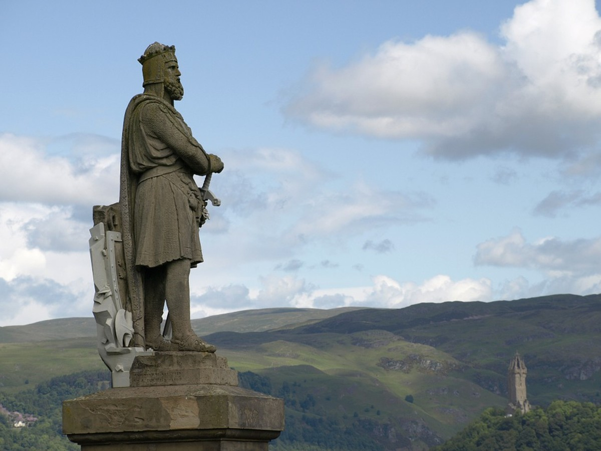 Robert the Bruce, King Wallace, Scotand