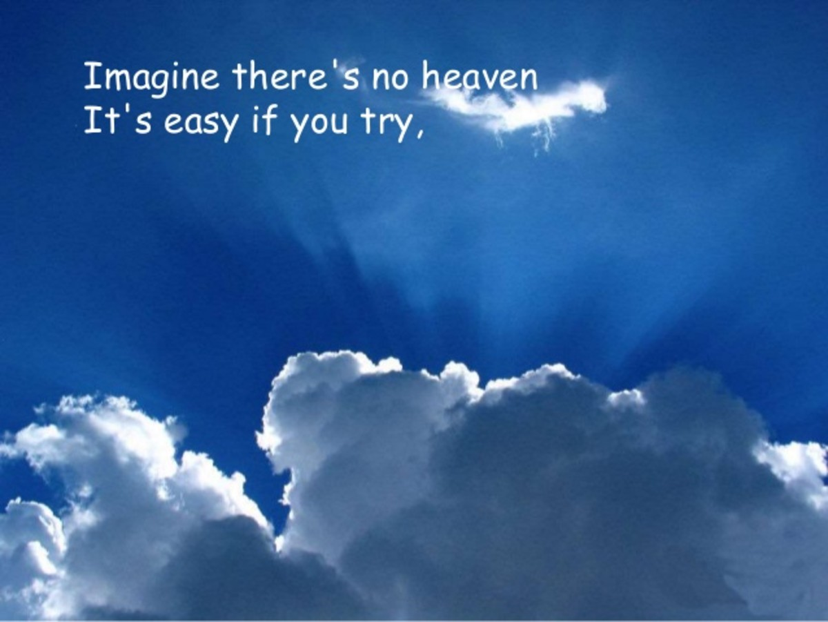 imagine there's no Heaven - John Lennon